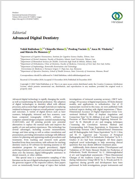 Advanced Digital Dentistry